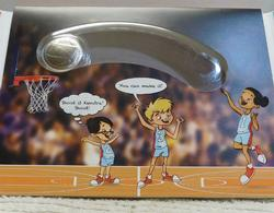 NEW  First Strike 2020 Unc Basketball Half Dollar, Kids