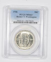 MS66+ 1946 Booker T. Washington Commemorative Half Dollar - PCGS