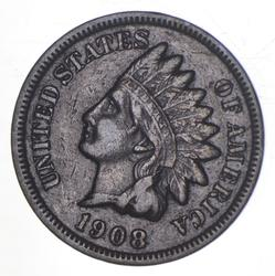 1908-S Indian Head Cent - Key