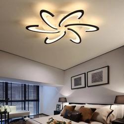 Modern LED Ceiling Light 6 Heads Chandelier