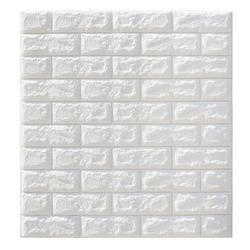 5Pcs 3D Waterproof Tile Brick Wall Sticker