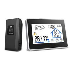 Wireless Touch Screen Weather Station