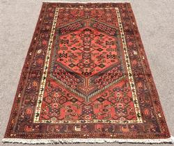 Unique Handmade Mid-20th C. Vintage Persian Gorg-Heydari