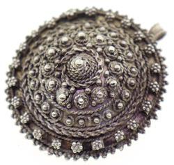 Vintage Sterling Silver Pin / Pendant.