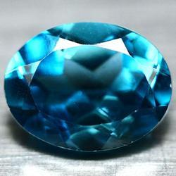 Real 2.51ct London blue Brazilian Topaz