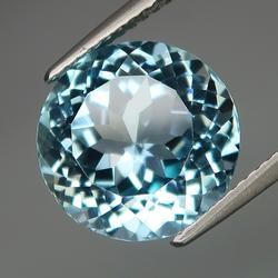 Vibrant 7.62ct high fire Topaz solitaire