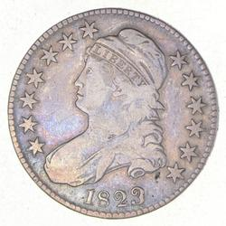 1823 Capped Bust Half Dollar - Patch 3