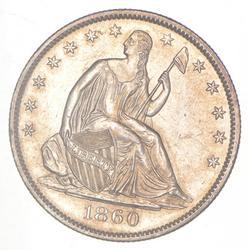 1860-O Seated Liberty Half Dollar