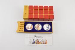 2011 Cook Islands $5 Terminator 25g .925 Silver 3 Coin Set Box & COA