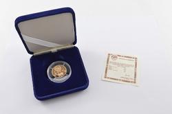 1989 USSR 50 Rubles Gold Proof - Box & COA