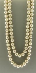 Fresh water Pearl 8mm Strand Necklace