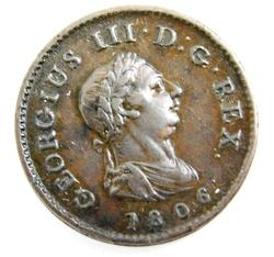 Great Britain 1806 Farthing Coin