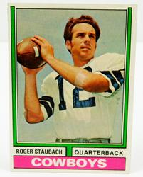 Roger Staubach 1974 Topps #500 Football Card