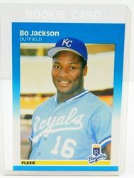 Bo Jackson, Royals 1987 Rookie Baseball Card