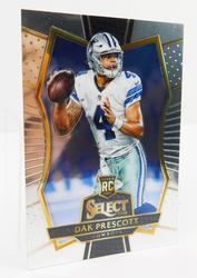 Dak Prescott 2016 Rookie Football Card