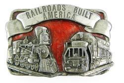 1984 Siskiyou Railroad Belt Buckle