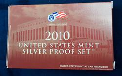 US Silver Proof Set 2010