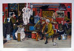 Bruce Bomberger, Antique Shop