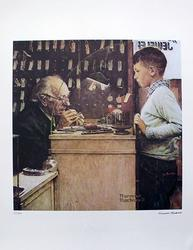 Rare And Collectible Norman Rockwell, The Watchmaker