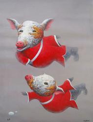 Wang Zhiwu, Zen Pig