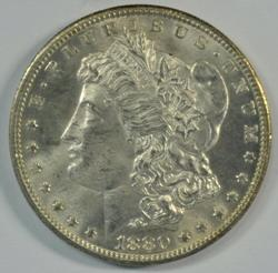 Frosty-white nice BU 1880-CC (Rev of '78) Morgan Dollar