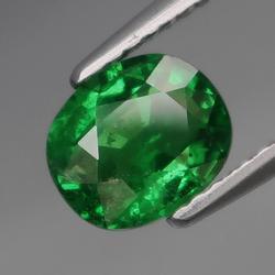 Collectors 1.42ct vivid kelly green Tsavorite Garnet