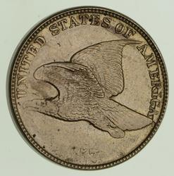 1857 Flying Eagle Cent - Clashed