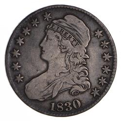 1830 Capped Bust Half Dollar - Circulated