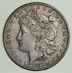 1903-S Morgan Silver Dollar - Near Uncirculated