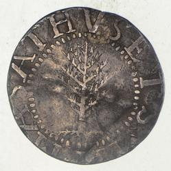 1652 Colonial New England Pine Tree Shilling