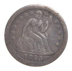 1843-O Seated Liberty Dime
