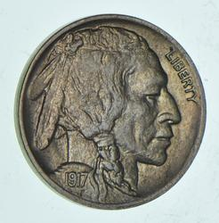 1917-D Indian Head Buffalo Nickel