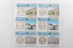 (6) BU 1881-S 1887 1898-O Morgan Silver Dollars - Slabbed GCS, Inc