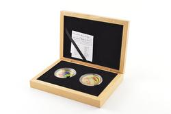 2006 Palau $5 Pacific Wildlife 25g .925 Silver Proof 2 Coin Set Box