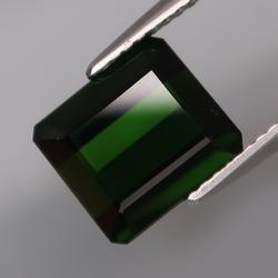 4.80ct eye clean well cut dark green Tourmaline
