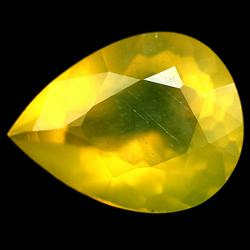 Glistening 6.58ct natural golden Fire Opal