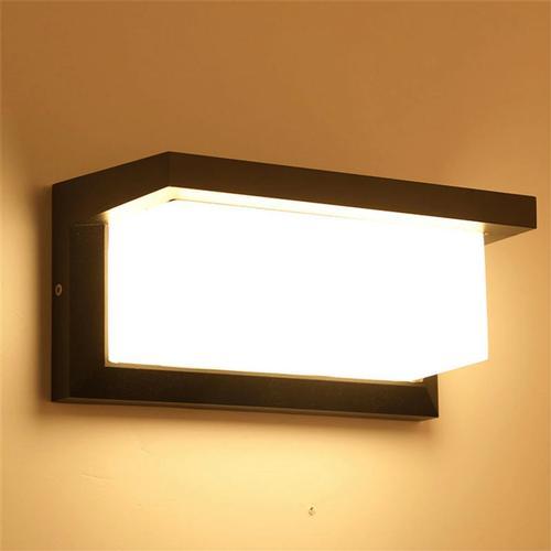 12W LED Wall Light Waterproof Human Body Induction