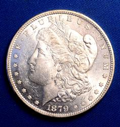 Proof Like 1879-S Morgan Silver Dollar