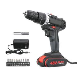 Cordless Electric Impact Drill Rechargeable