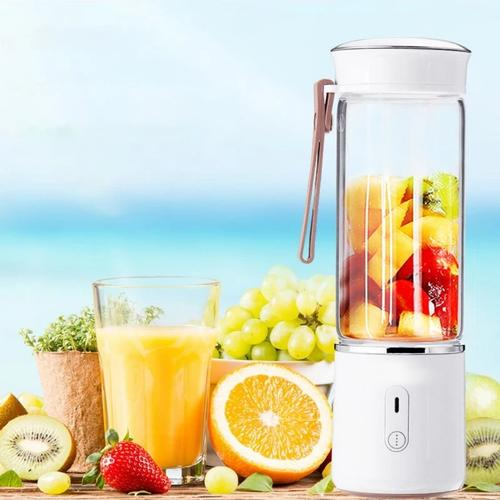 500ML Electric Glass Juicer Cup Fruit Extractor Machine