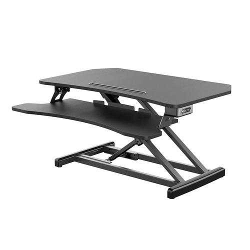 Electric Powered Standing Desk 34 inch Wide Adjustable