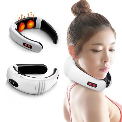 Hot Electric Cervical Neck Support Massager