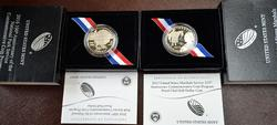 2015 2016 Proof 50c Commems OGP Natl Park, Marshalls