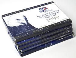 1999-2003 Proof Quarter Sets