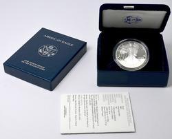 2005 Proof Silver Eagle OGP