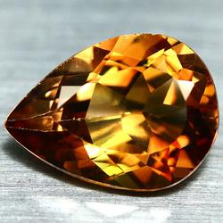 Glittering 8.25ct amber Imperial Topaz