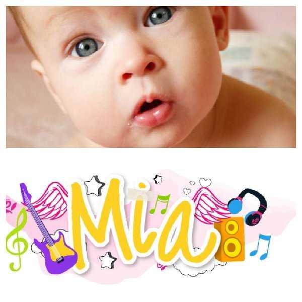 ¡Me encanta el nombre Mia!