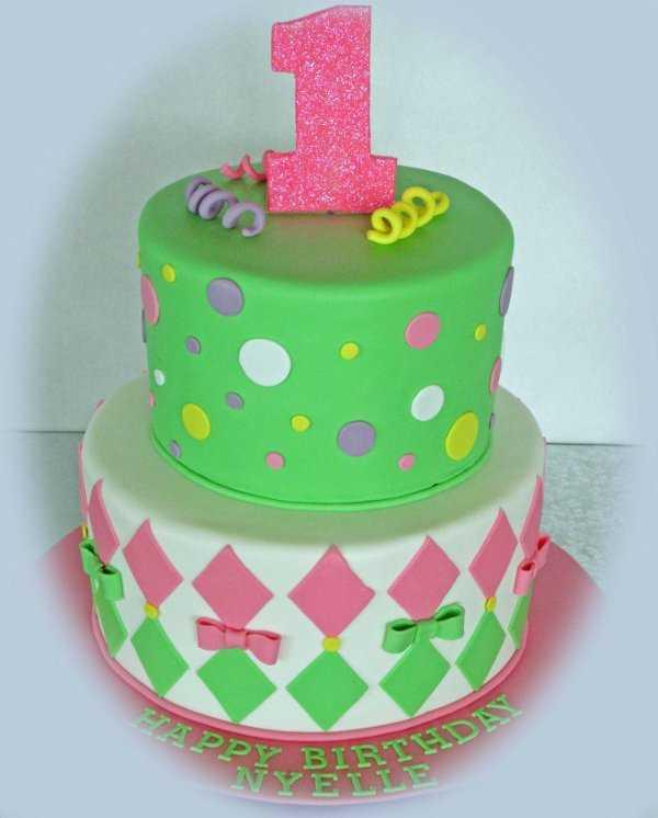 Colores lindos para la torta de tu bebita