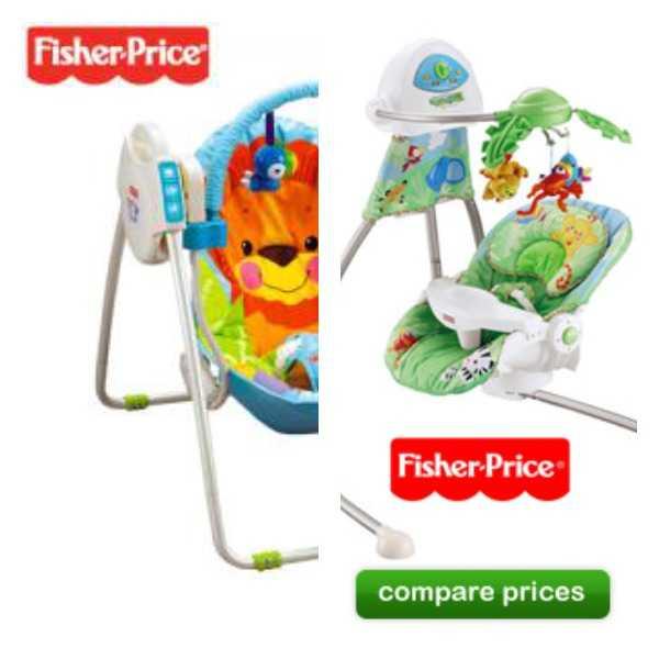 Mecedoras Fisher Price ¡Las favoritas de tu bebé!