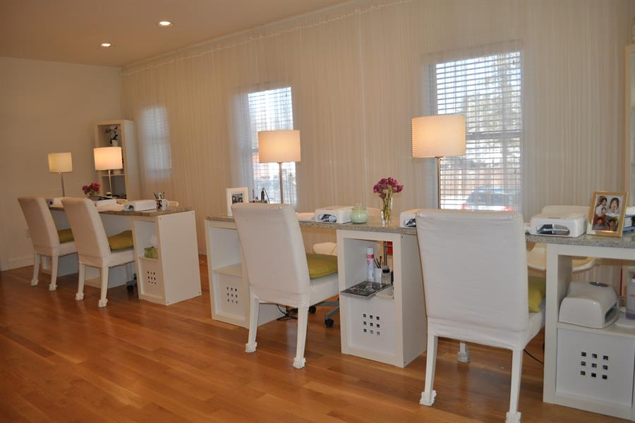 the manicure room were designed with your ultimate relaxation in mind.